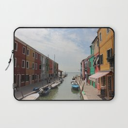 Burano in Venezia Laptop Sleeve