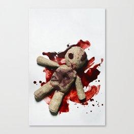 Bloody sack doll Canvas Print