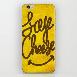 Cheese ! iPhone Skin