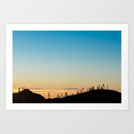 Samara Mountain Art Print