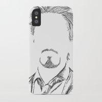 tony stark iPhone & iPod Cases featuring Tony Stark by  Steve Wade ( Swade)