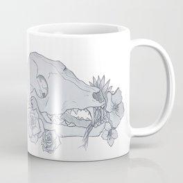 Fox Skull Coffee Mug