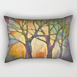 Sounds of the Forest Rectangular Pillow