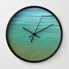 Smooth Wave  Wall Clock