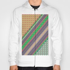 Plaid Design Modern QF Hoody