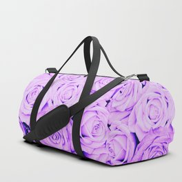 Some people grumble - Floral Ultra Violet Rose Roses Flowers Duffle Bag