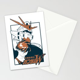Mobile suit gundam wing Stationery Cards
