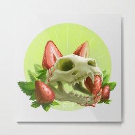 Strawpurry Metal Print