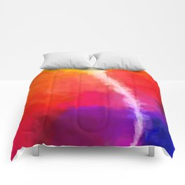 For the Love of Color Comforters