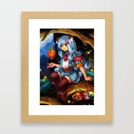 Mi Framed Art Print