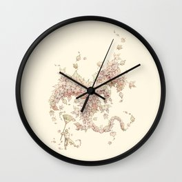 Medieval Cleanup Wall Clock