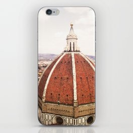 Duomo - Hazy, Florence Photography iPhone Skin