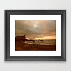 Dunure Castle Framed Art Print