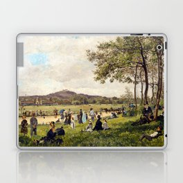 Race Course at Longchamps Laptop & iPad Skin