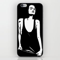 shining in the dark iPhone & iPod Skin