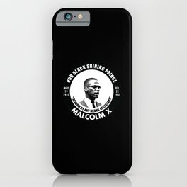 Our Black Shining Prince iPhone Case