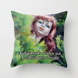 Soul Stealer Throw Pillow