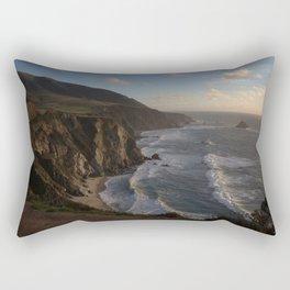 Sunset on Bixby Bridge Rectangular Pillow