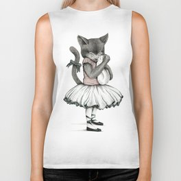 THE CAT AND THE KITTY Biker Tank