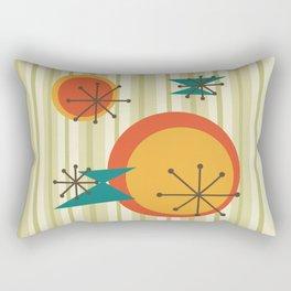 Retro Stripes & Shapes Rectangular Pillow
