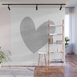 Cute Heart Dots Wall Mural