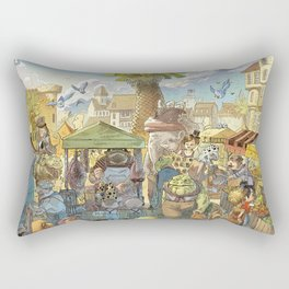 Le marché Rectangular Pillow