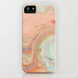 Pastel Marble iPhone Case