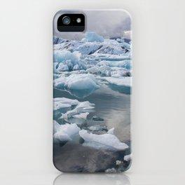 Jokulsarlon iPhone Case