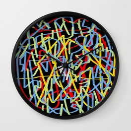 Laberinto 29 ing Wall Clock