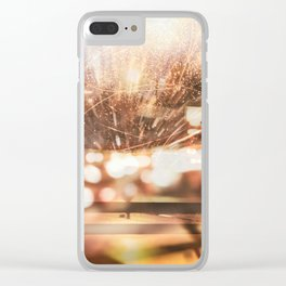 Traffic Lights Clear iPhone Case