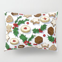 Christmas Treats and Cookies Pillow Sham