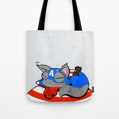CAPTAIN AMERICAT - FAN ART AVENGER CAPTAIN AMERICA Tote Bag