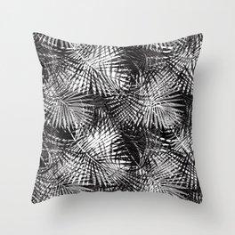 Palm Frenzy Throw Pillow