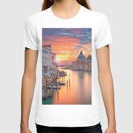 Sunset in Venice T-shirt