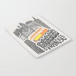San Francisco Cityscape Notebook