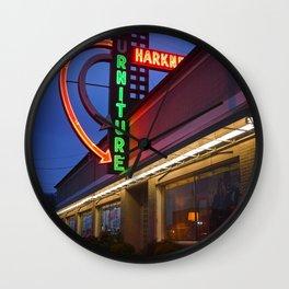 Local furniture shop Wall Clock