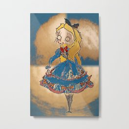 Velvetesque Dolls • Wonderland Collection #1D Metal Print