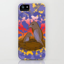 Birds of the Dawn iPhone Case