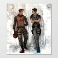 RedHood  Agent37 Canvas Print
