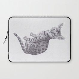 Bengal Cat Drawing Laptop Sleeve