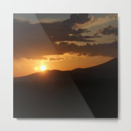 Smith Rock Sunrise Metal Print
