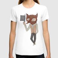 mr fox T-shirts featuring Mr. Fox by black lab studio
