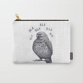 Owl bla bla bla Carry-All Pouch