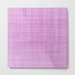 Modern abstract geometric lilac brushstrokes pattern Metal Print