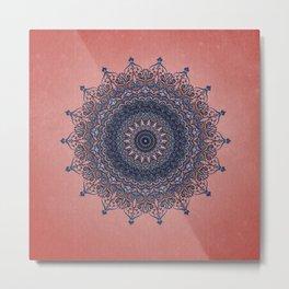 Mandala 6 - Ornament Metal Print