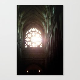 St. Vitus Cathedral: Prague, Czech Republic Canvas Print