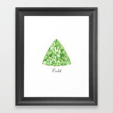 Peridot Framed Art Print