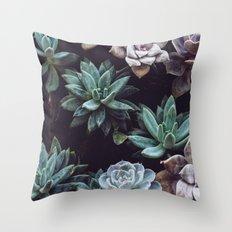 Succulents Throw Pillow