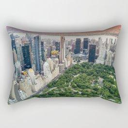 Central Park, New York City Rectangular Pillow