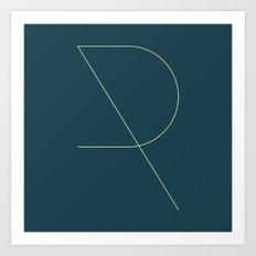 R LIKE R Art Print